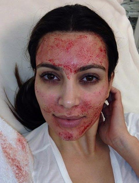 celeb beauty tricks kim k