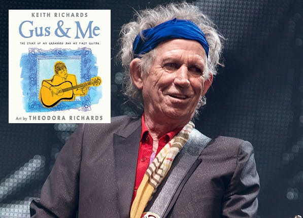celeb childrens books keith richards