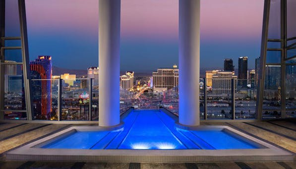 coolest pools vegas