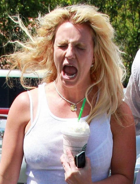 embarrassing celebs britney