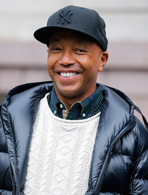 hamptons celebs russell simmons