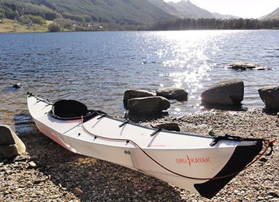A Fold-Up Kayak for River Rafting