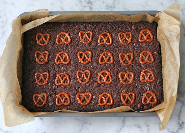 purewow pretzel brownies
