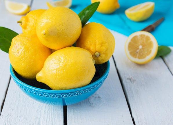 summer Beauty lemon stains