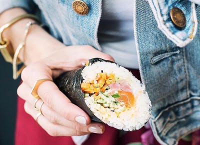 Sushi Burritos Now Exist in NYC