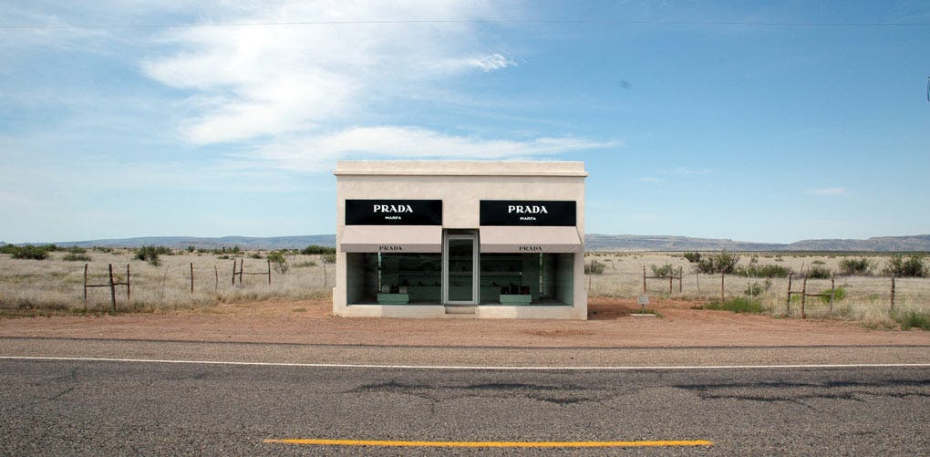 weird roadside attractions prada marfa