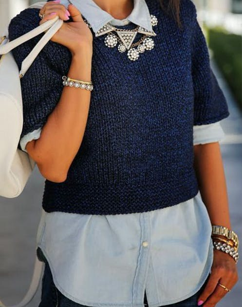 Chambray Necklace