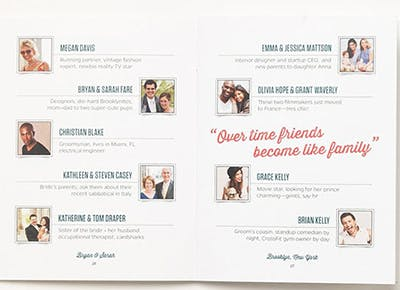 Make a Printed Whos Who to Introduce Party Guests to One Another