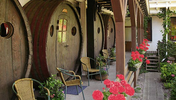 converted hotels wine