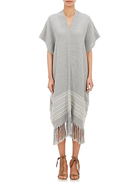 fall fashion poncho dress
