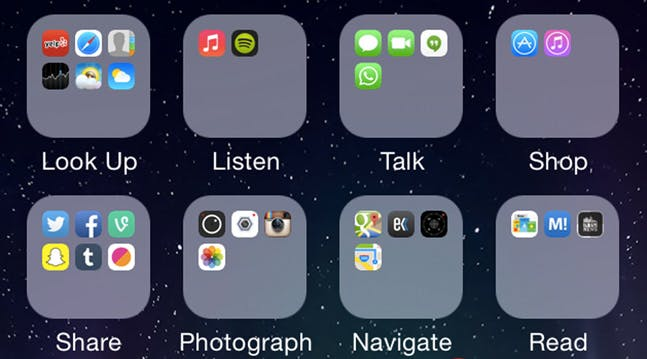 The Best Way To Organize Your Insanely Disorganized Iphone