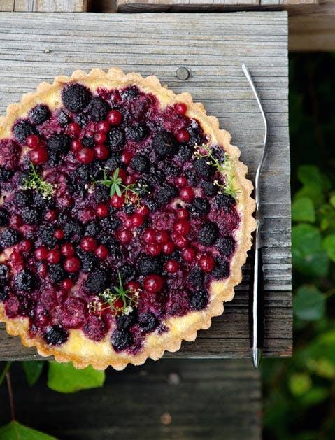 pretty pies berry yogurt