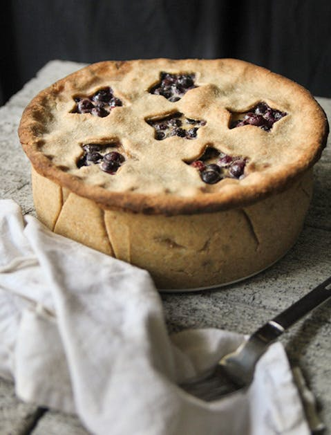 pretty pies buttermilk blueberry