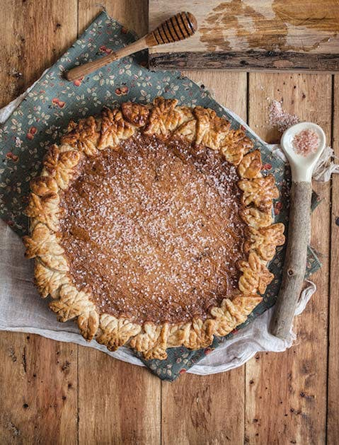 pretty pies salted rose