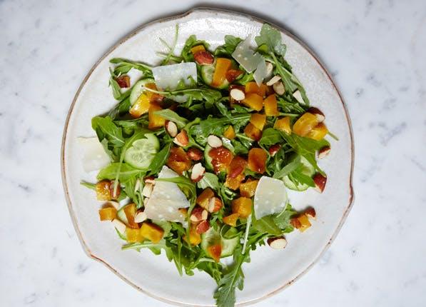 purewow peach salad