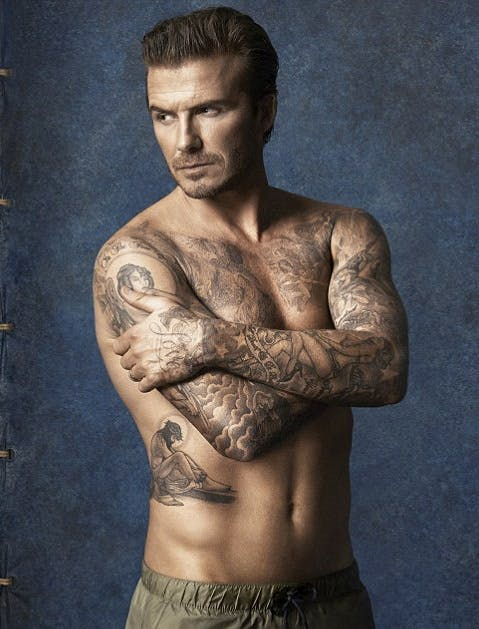 tattoobeckham