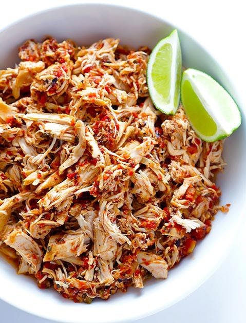3 ingredient mexican chicken