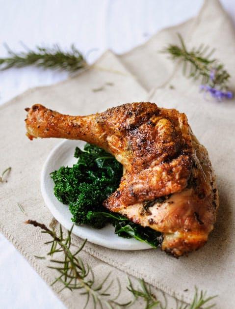 3 ingredient roast chicken