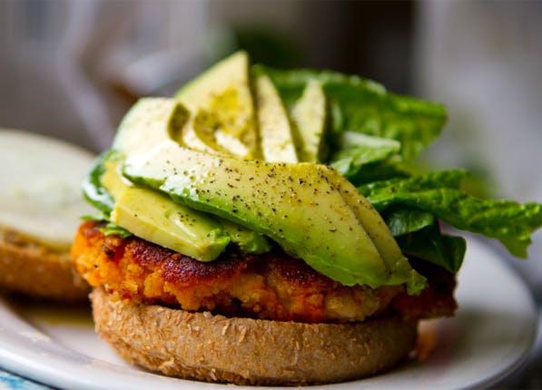 3 ingredient veggie burger