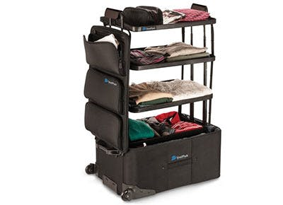 Um, This Suitcase Has Shelves