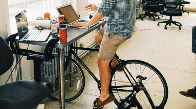 Are Biking Desks the New Standing Desks?