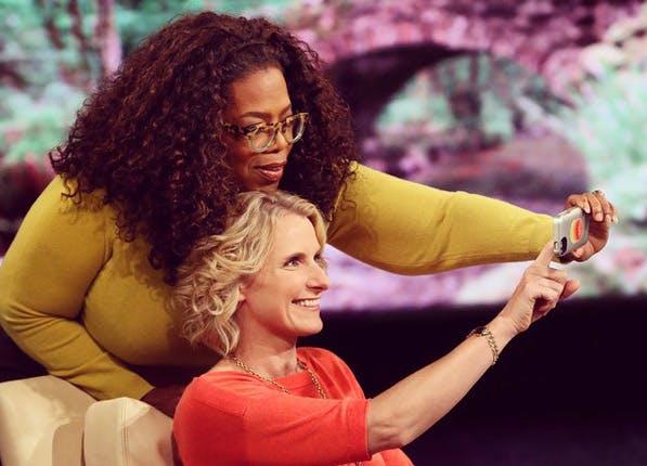 celeb selfies oprah