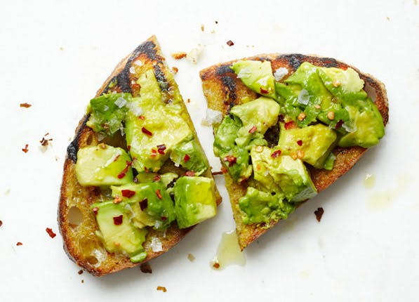 emojis avocado toast