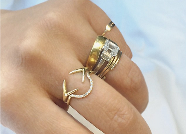 Help I Have No Idea How to Stack My Rings Fashion PureWow National