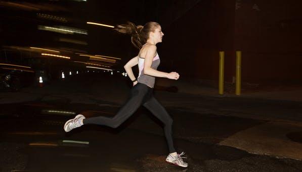 nighttime workout