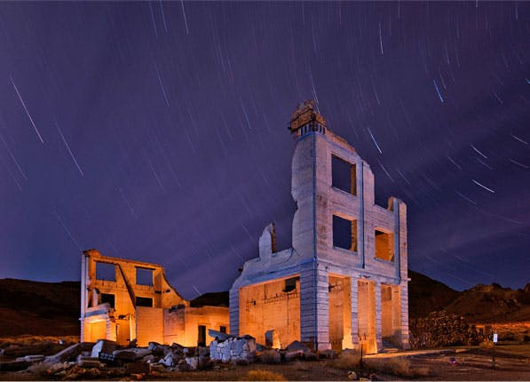 Death Valley Ghost Town 597x430