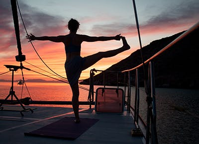 Over the Gym? Try a Yoga Cruise