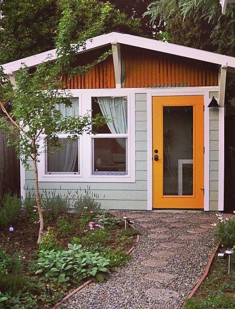 Shed Yellow Door 479x629