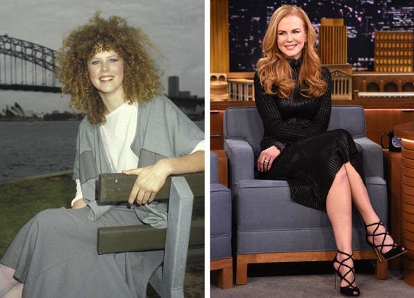 celeb transformations nicole kidman