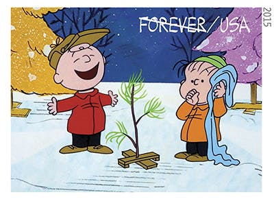 There Are Now Charlie Brown Christmas Stamps, You Blockheads!