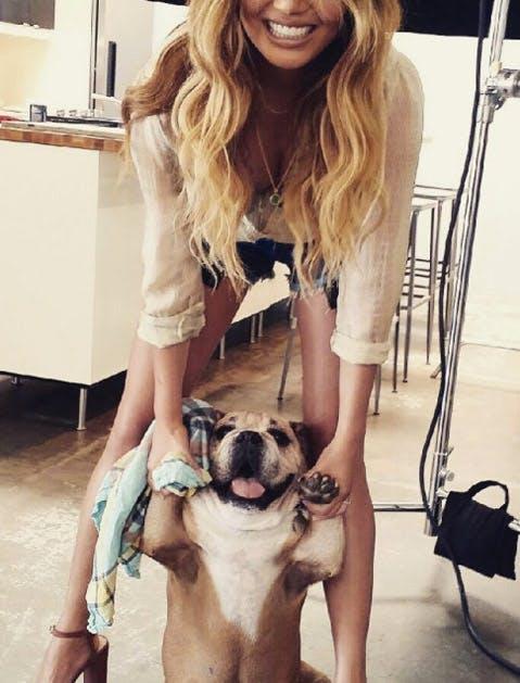 chrissy dog 2