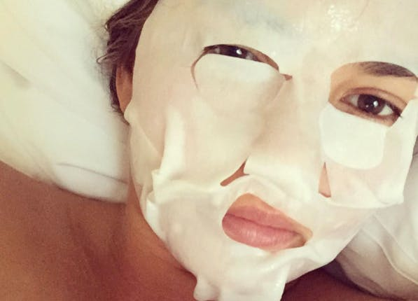 chrissy mask