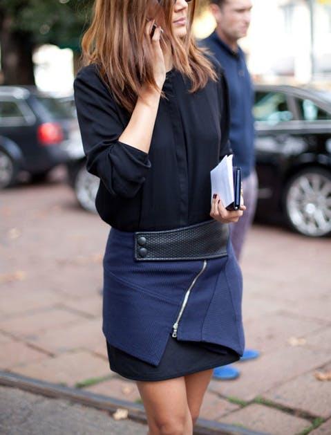 fashion rules black navy