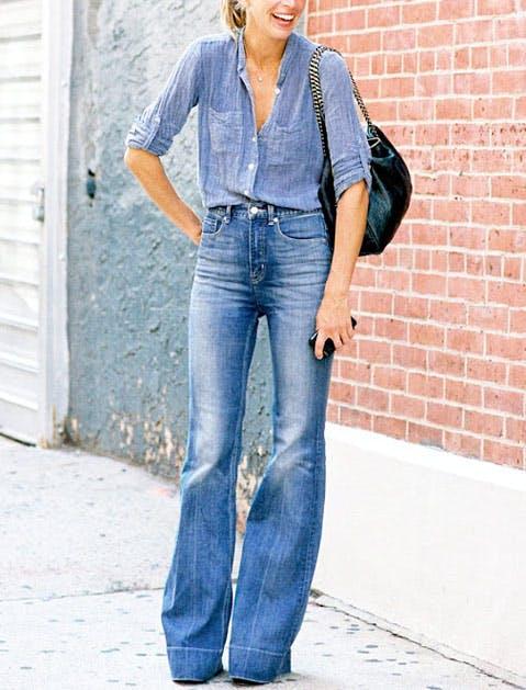 fashion rules double denim