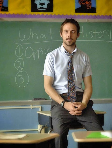 hot teachers ryan gosling