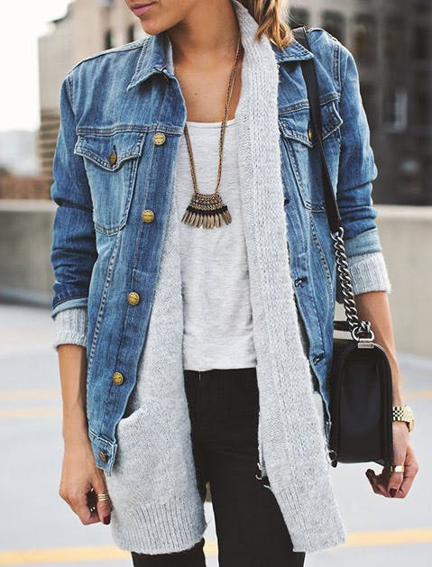 Proof That Jean Jackets Go with Everything | Fashion | Purewow