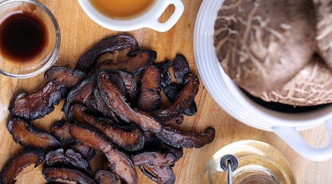 Holy Shiitake! Mushroom Bacon!