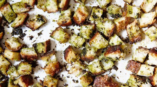 The Best Croutons Ever