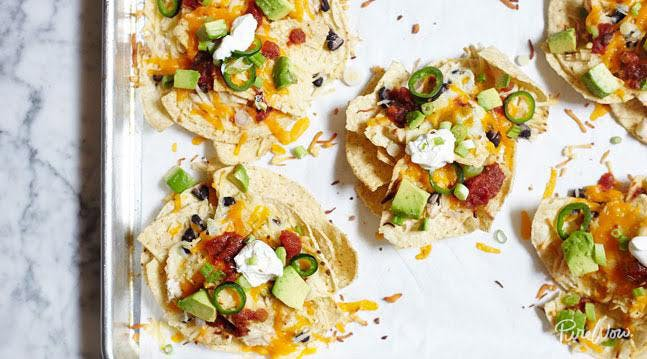 Best appetizer recipes from savory to sweet purewow 23 mini nachos forumfinder Images