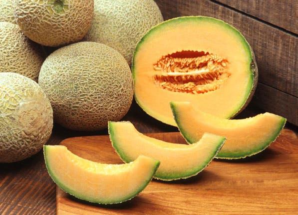 ripe fruit cantaloupe