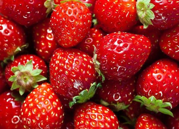 ripe fruit strawberries