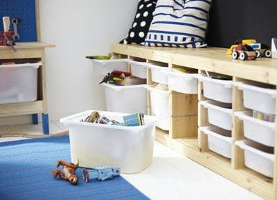 Creative Storage Solutions For Messy Kidsu0027 Toys