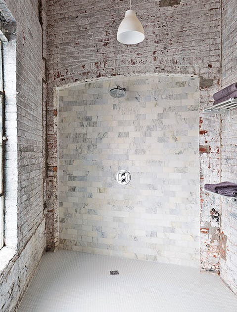 BathroomDoorlessShower
