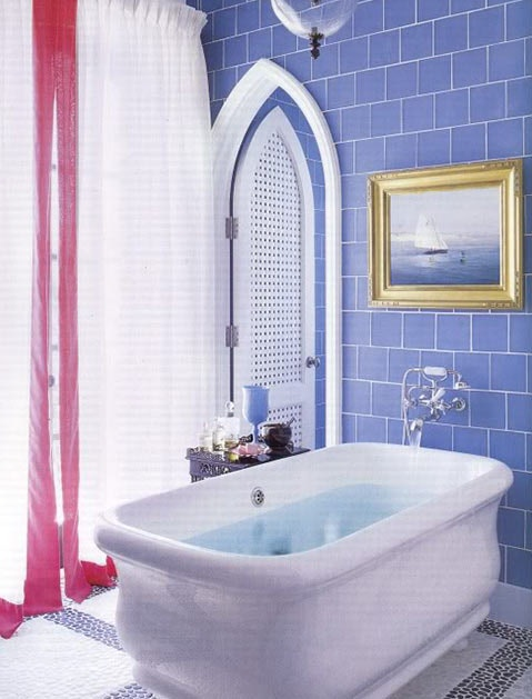 BlueBathroom & Take A Peak At These 27 Bonkers Amazing Bathrooms | Home | Purewow