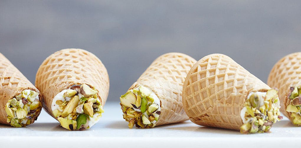 Ice Cream Cone Cannoli