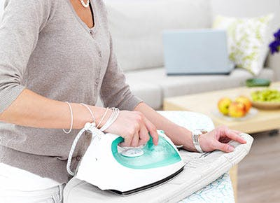 The Super-Smart Way to Clean Your Iron So It Stops Staining Your Blouses